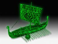 041-05428 Viking Ghost Ship 1/50