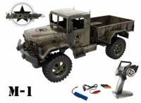 123-1555 M1 Military Truck - 100 % RTR